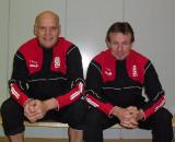 Co Trainer Thomas Schmid und C-Trainer Lothar Deeg
