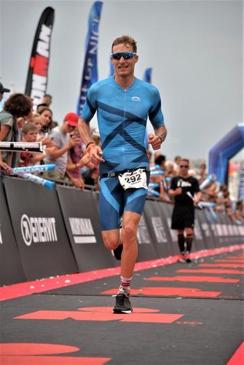 Andreas Jung beim Ironman in Nizza